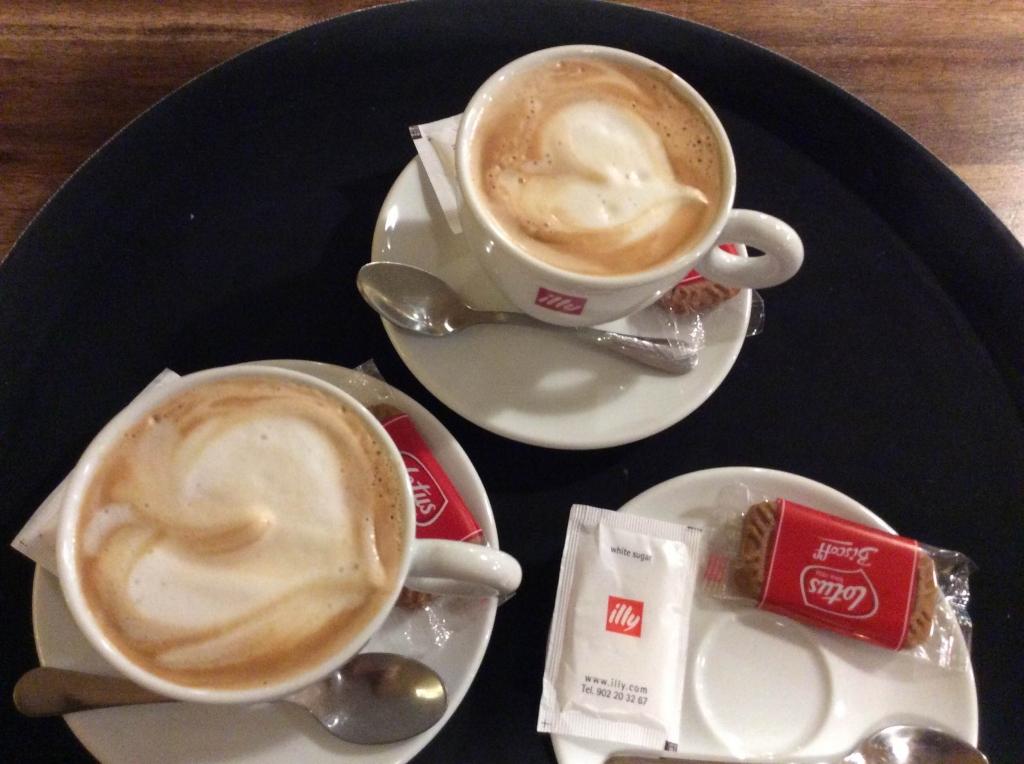 Cafè fet amb amor.